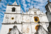 Ancient cathedral in Nicaragua — Stock Photo