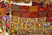 Mola design in native Kuna stile — Stock Photo