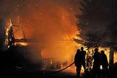 Los bomberos — Foto de Stock