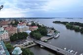 Vyborg a kind from a tower — Stock Photo