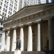 Stock Photo: Wall street building federal hall