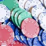 Постер, плакат: Poker chips