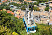 Cable car in San Marino — Stock Photo