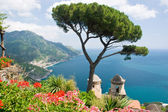 Ravello, amalfi coast — Stock Photo