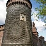 Sforzesco castle — Stock Photo #6233678