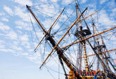 Old sailship — Stock Photo
