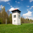 Watch tower on perimeter of Dachau concentration camp — Stock Photo #6244878
