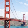Golden gate, SF - Stock Photo