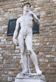 Statue of David in Florence — Stock Photo
