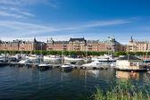 Ostermalm widok, sztokholm — Zdjęcie stockowe