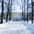 Royal castle in the winter — Stock Photo
