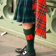 Scottish kilt - Foto de Stock