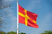 Skane flag — Stock Photo