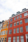 Traditional architecture in Nyhavn — Stock Photo