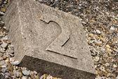 Symbol in Dachau — Stock Photo
