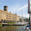St Catherine docks, London - Stock Photo