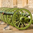 Old cannons — Stock Photo #6315005