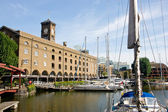 St Catherine docks, London — Stock Photo