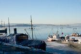Oslo harbour — Stock Photo