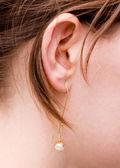 Women earrings — Stock Photo