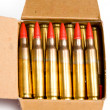 Ammo isolated — Stock Photo