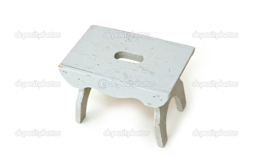 Grey mini table  — Stock Photo #6329782