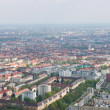 Stock Photo: Aerial view of Munich city