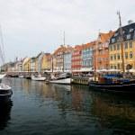 Copenhagen, Denmark - colorful buildings of Nyhavn street — Stock Photo #6379633