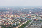 Aerial view of Munich city — Stock Photo