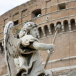 Stock Photo: Angel at St Angelo fortress