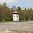 Watch tower on perimeter of Dachau concentration camp — Stock Photo #6386095