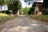 Via appia antica — Stock Photo