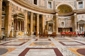 Inside pantheon — Stock Photo