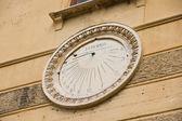 Sun clock — Stock Photo