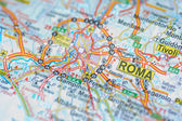 Rome map — Stock Photo