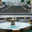 Spanish Steps, Rome — Stock Photo