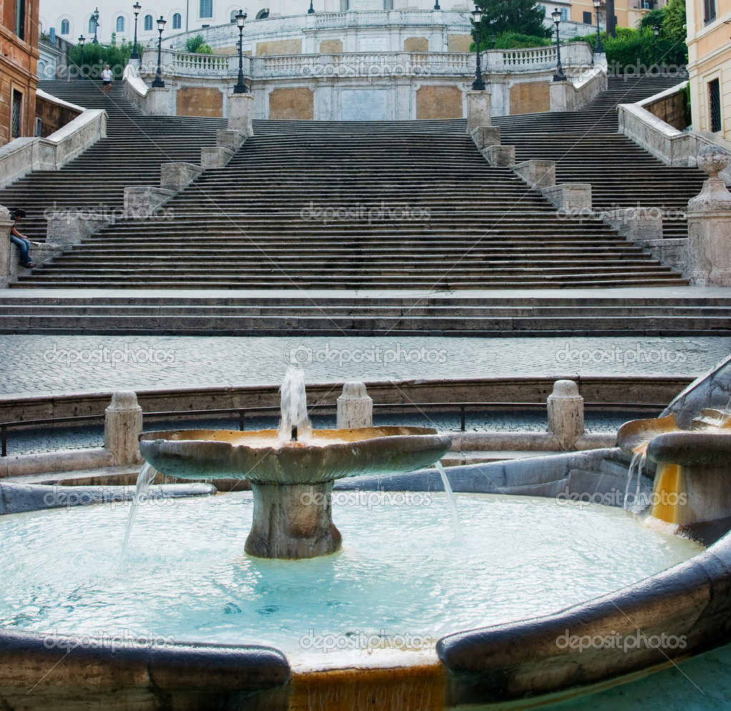 Spanish Steps, Rome  Stock Photo #6427903