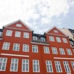 Copenhagen, Denmark - colorful buildings of Nyhavn street — Stock Photo #6535299