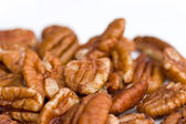 Pecan nuts isolated — Stock Photo