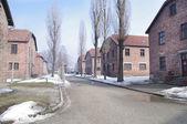 Auschwitz, death camp in Poland — Stock Photo