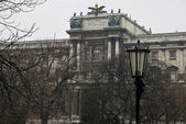 Old imperial palace Hofburg Vienna — Stock Photo