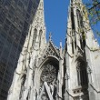 St Patrick cathedral NY — Stock Photo