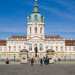charlottenburg castle in berlin — Stock Photo