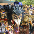 Picture of colorful masks in Venice — Stock Photo