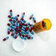 Pharmaceuticals - pills — Stock Photo