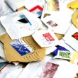 Briefmarkensammlung - Stock Photo