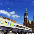 Stock Photo: Wroclaw -host city of EURO 2012