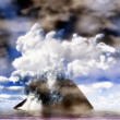 Royalty-Free Stock Photo: Underwater volcanic eruption