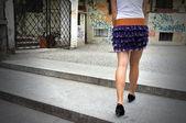 超级双腿 — 图库照片