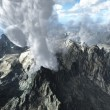 Volcanic eruption — Stockfoto